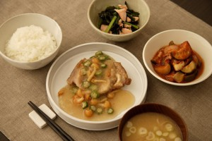 ネット用6月22日鶏肉のなめこおろし煮